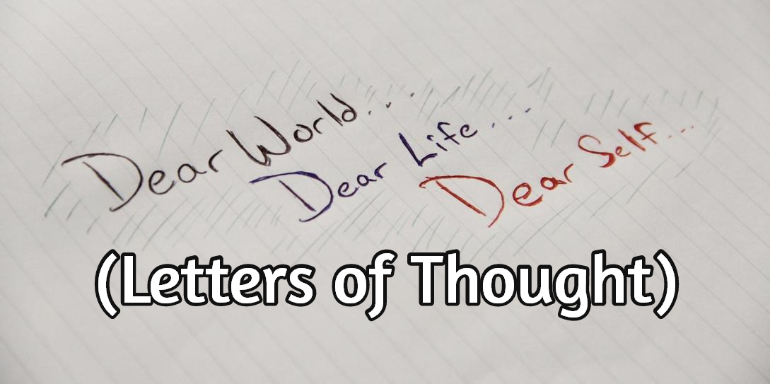 letters of thought