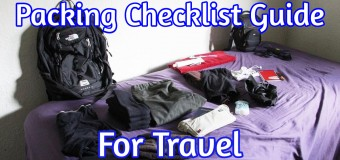 Packing Checklist Guide For Traveling Lighter